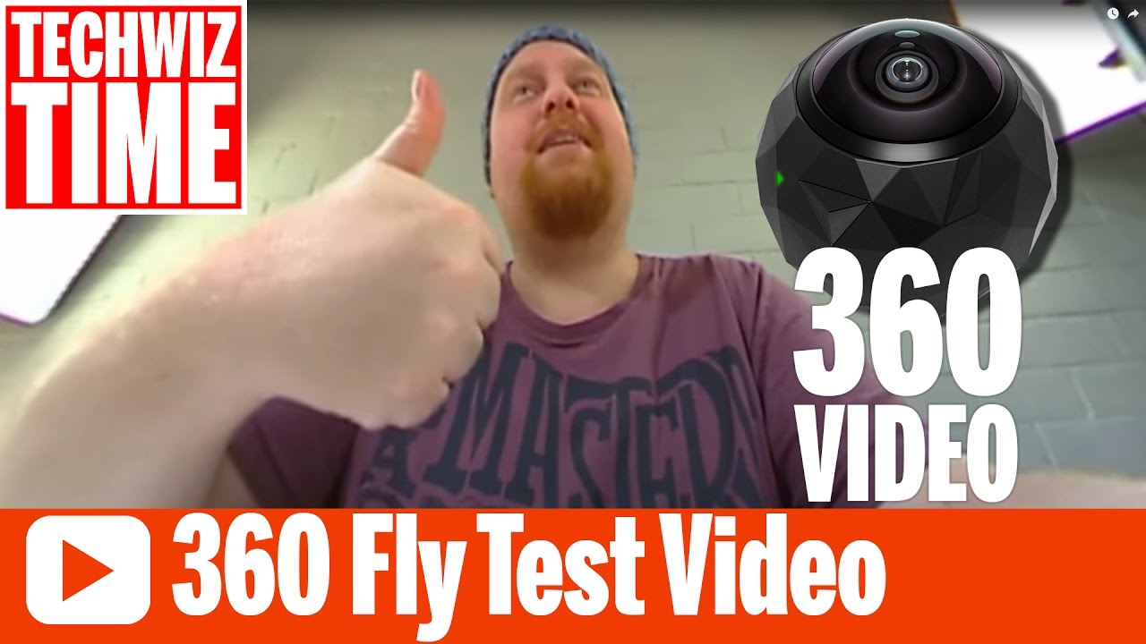 360Fly HD Video Camera Test Footage with Editing