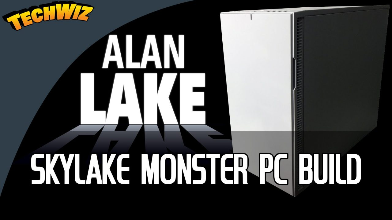 Alan Lake $5000 4K Monster PC Build 2016