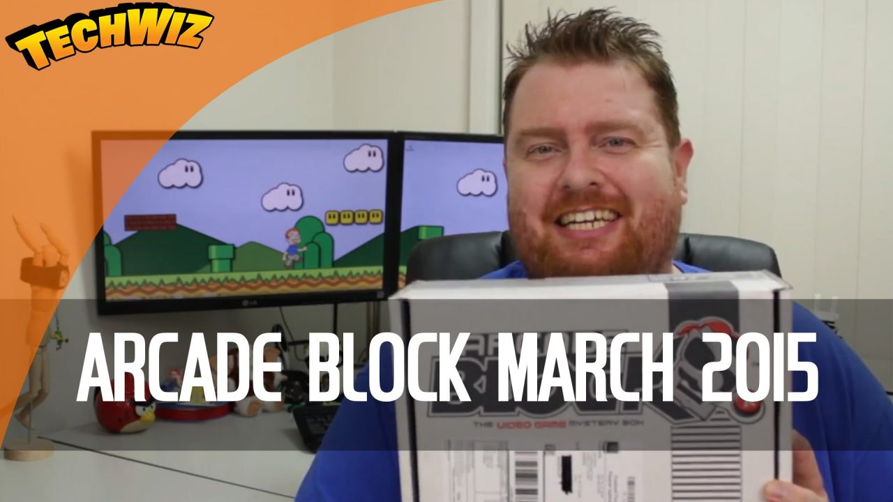 Arcade Block March 2015 Unboxing Australian Review TechWire Ep 3
