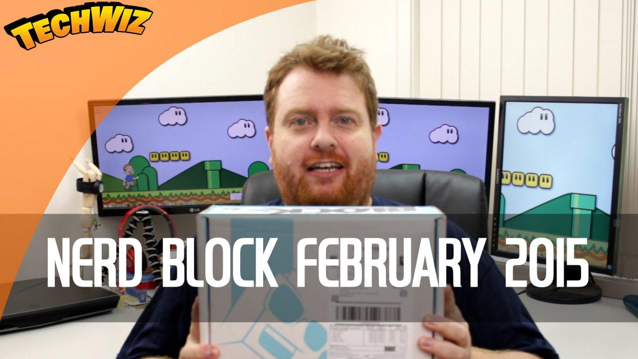 Aussie Nerd Block Unboxing February 2015