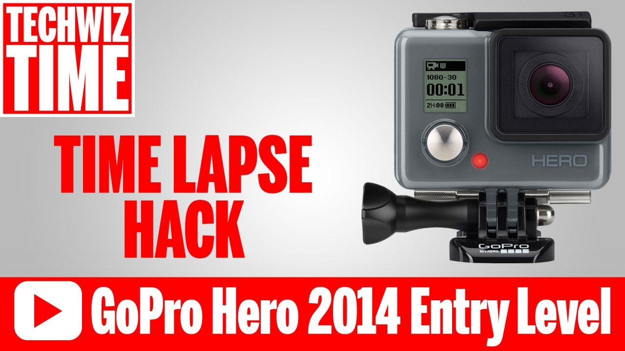 GoPro Hero 2014 Timelapse Hack