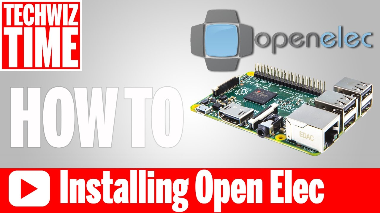How to Install Kodi OpenElec on Raspberry Pi 1 2 3