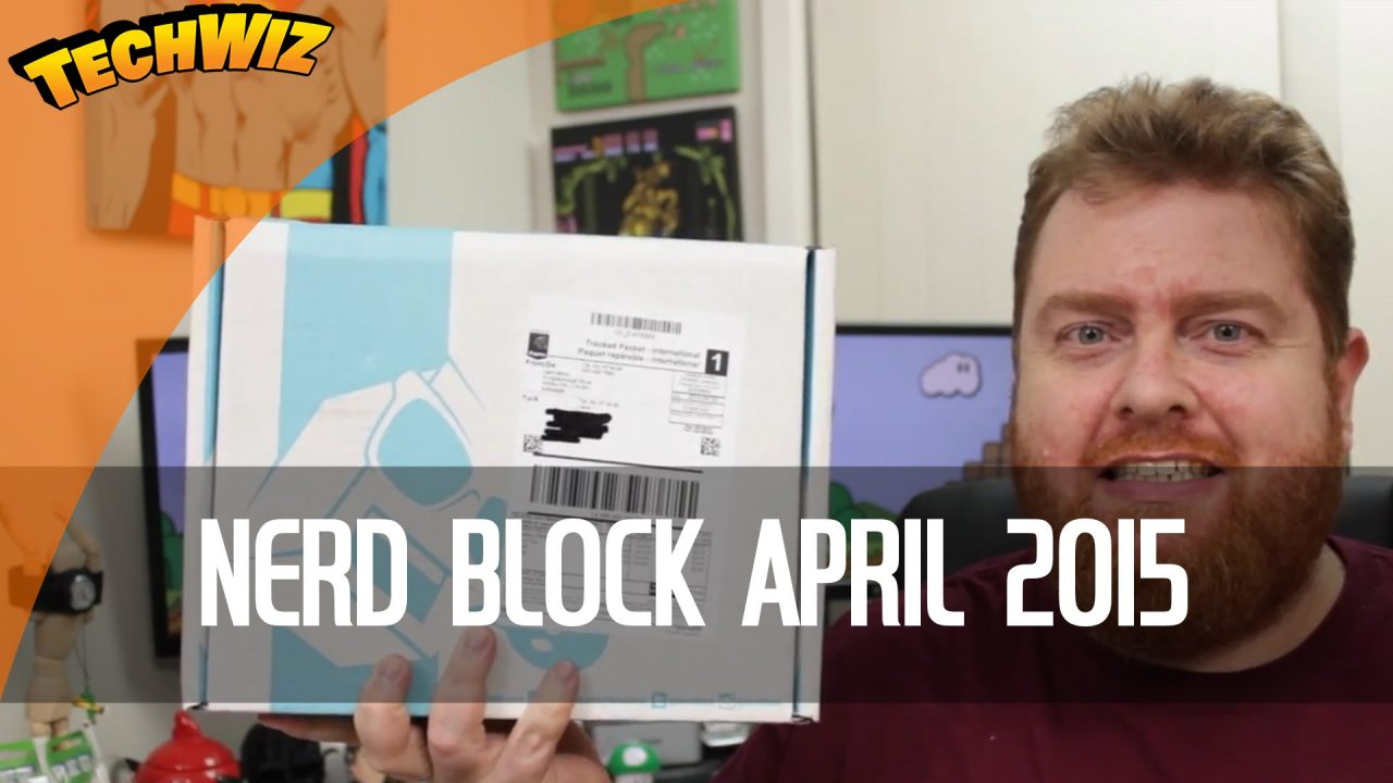 Nerd Block April 2015 Unboxing TechWire Ep 5
