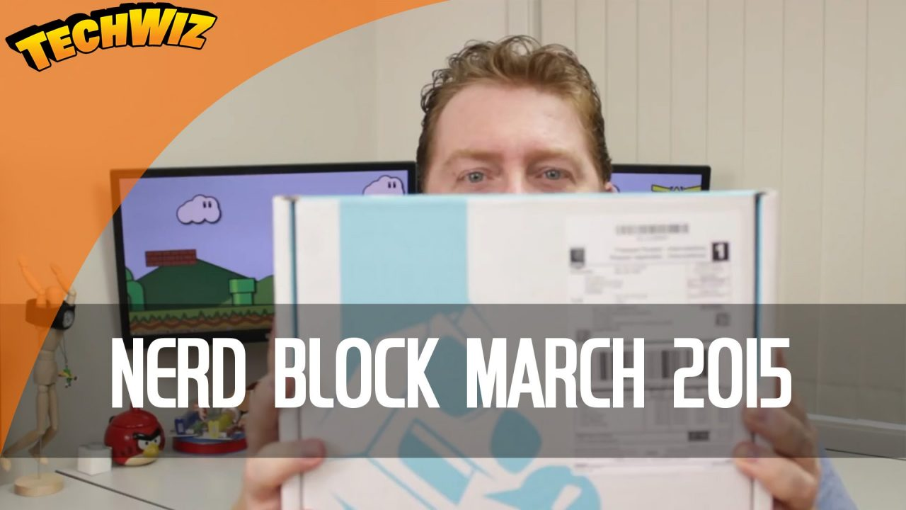 Nerd Block Classic March 2015 Aussie Nerd Block Unboxing Review TechWire Ep 2