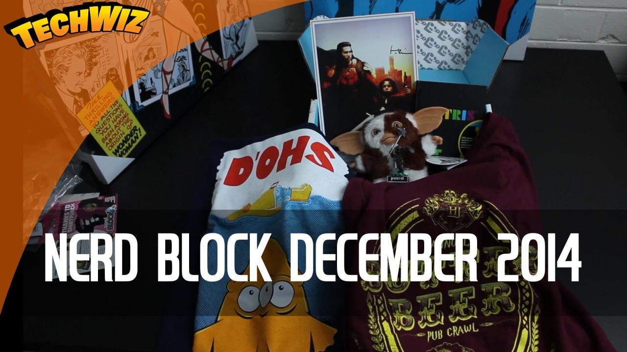 Nerd Block December 2014 Unboxing Double Shirt Review