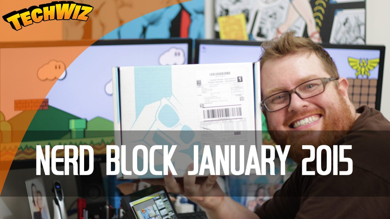 Nerd Block Unboxing January 2015