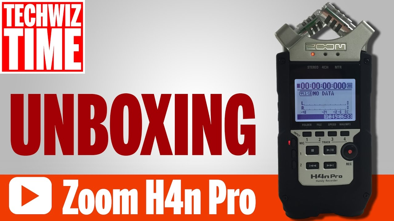Zoom H4N Pro Unboxing Review