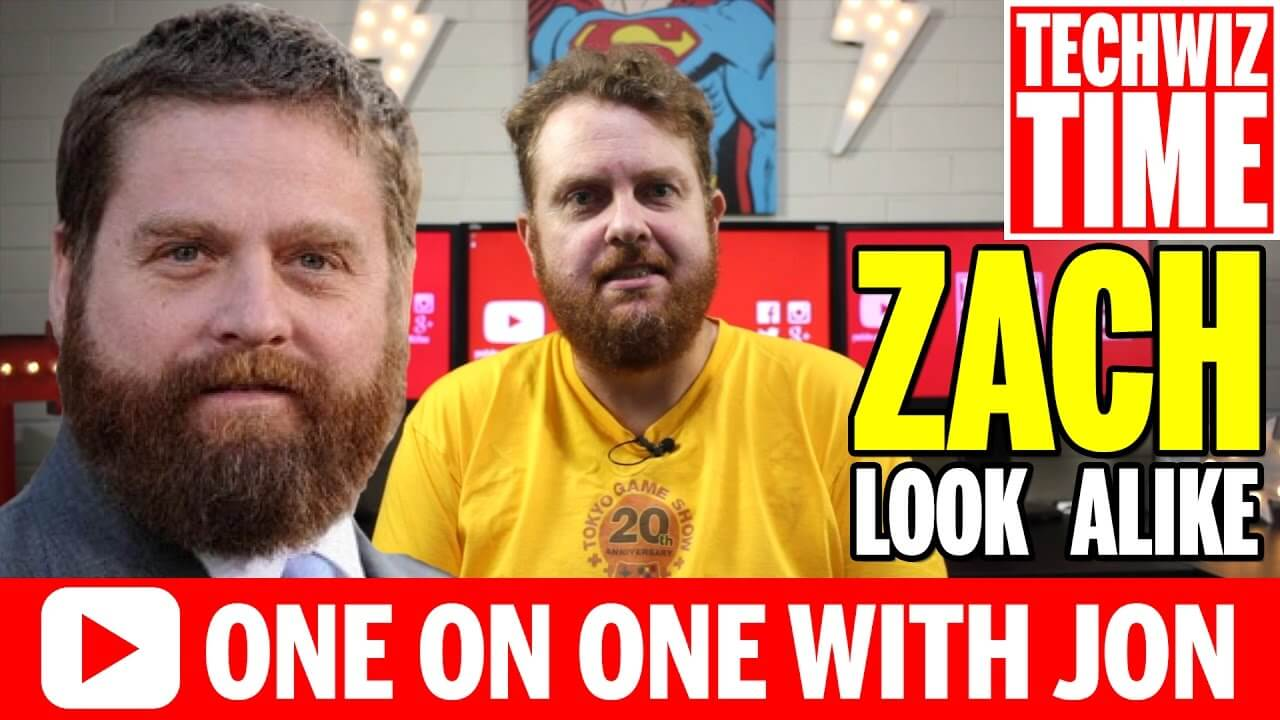 Am I A Zach Galifianakis Look Alike? TechWizTime VLOG #0003