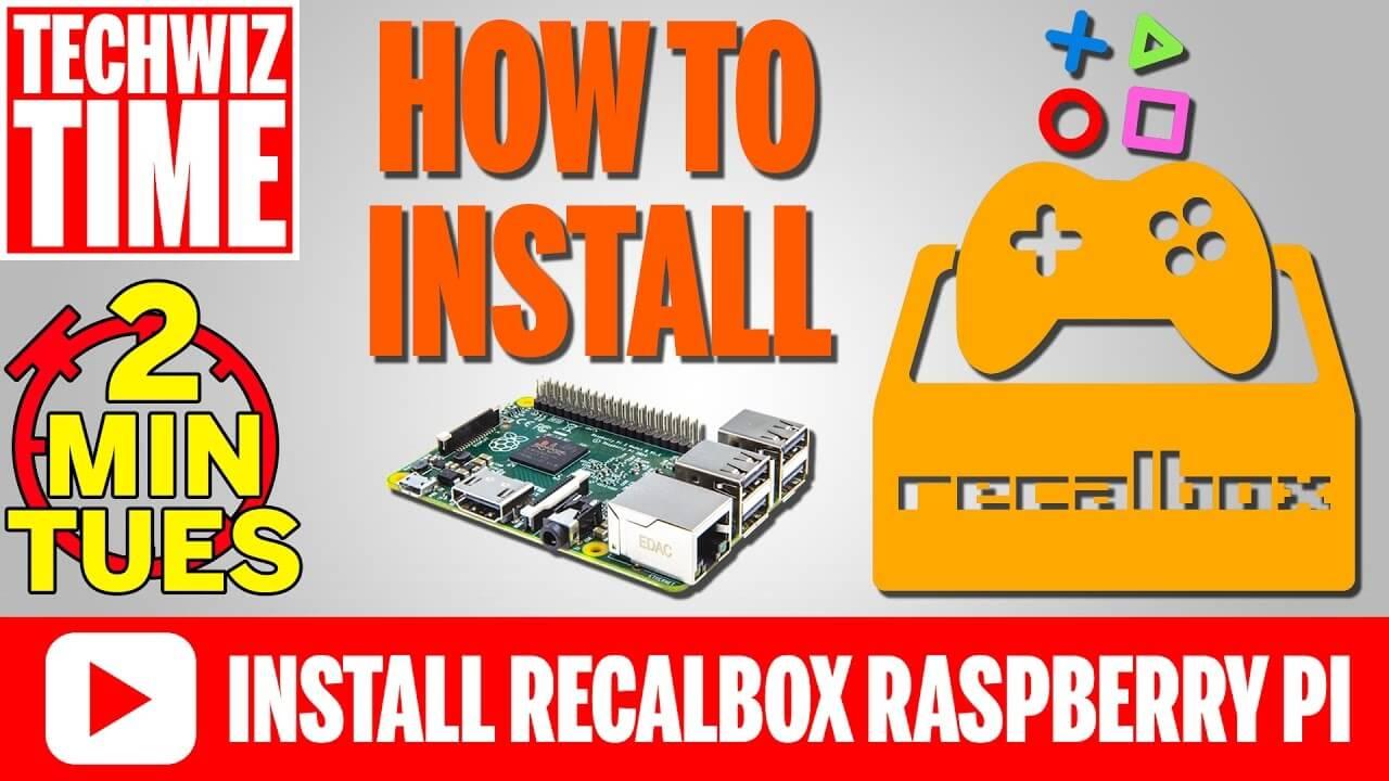 How to Install Recalbox 4 0 on a Raspberry Pi 3 2 1 B+ 0 Zero