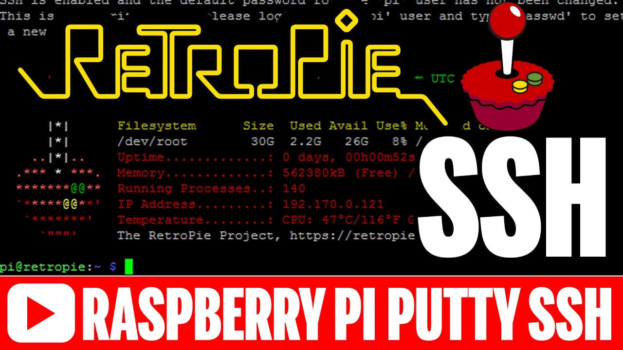 Raspberry Pi SSH Tutorial for RetroPie 4.1