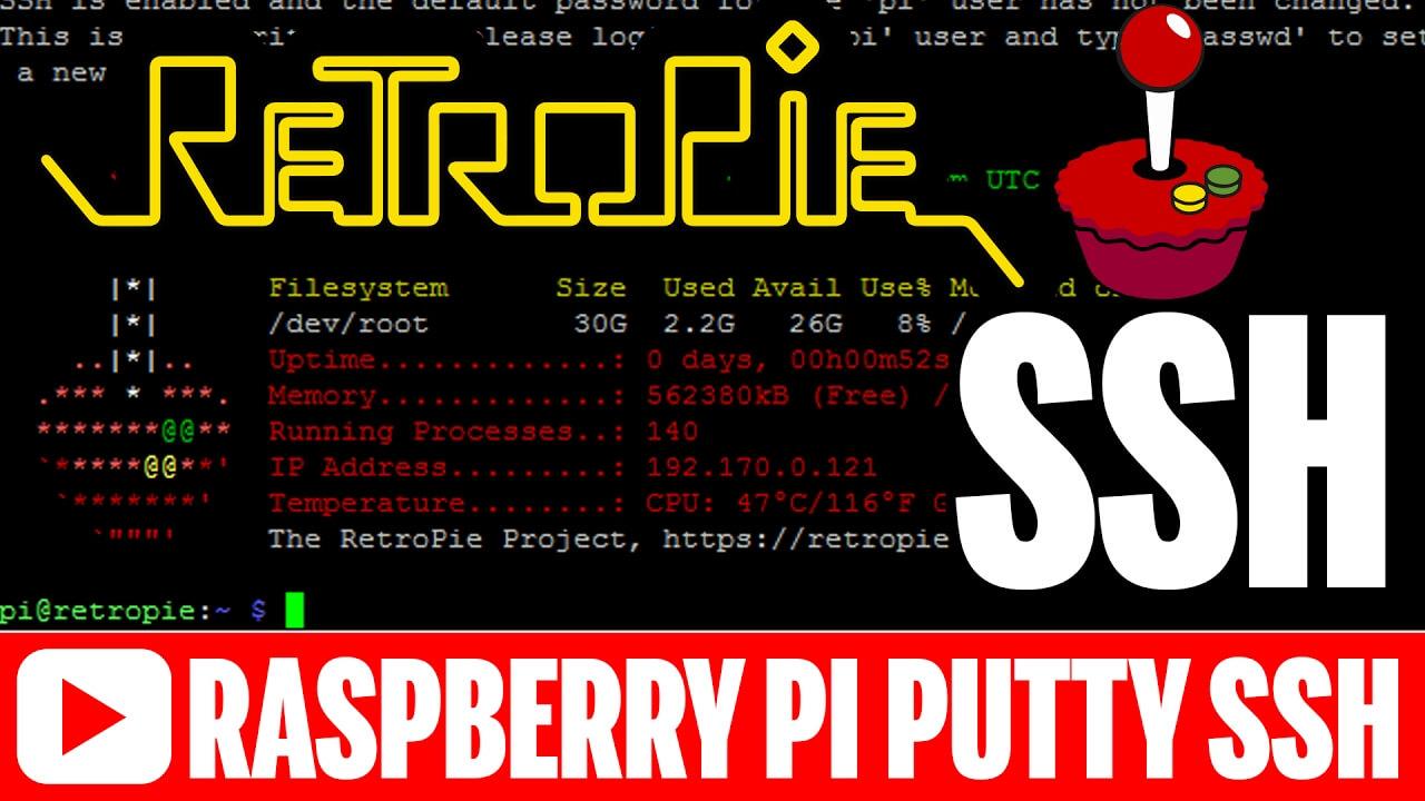 Raspberry Pi SSH Tutorial for RetroPie 4.1