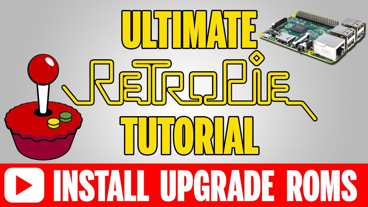 The ULTIMATE RetroPie 4.1 Raspberry Pi Setup Tutorial 2017 (Install, Upgrade, & Transfer Roms)