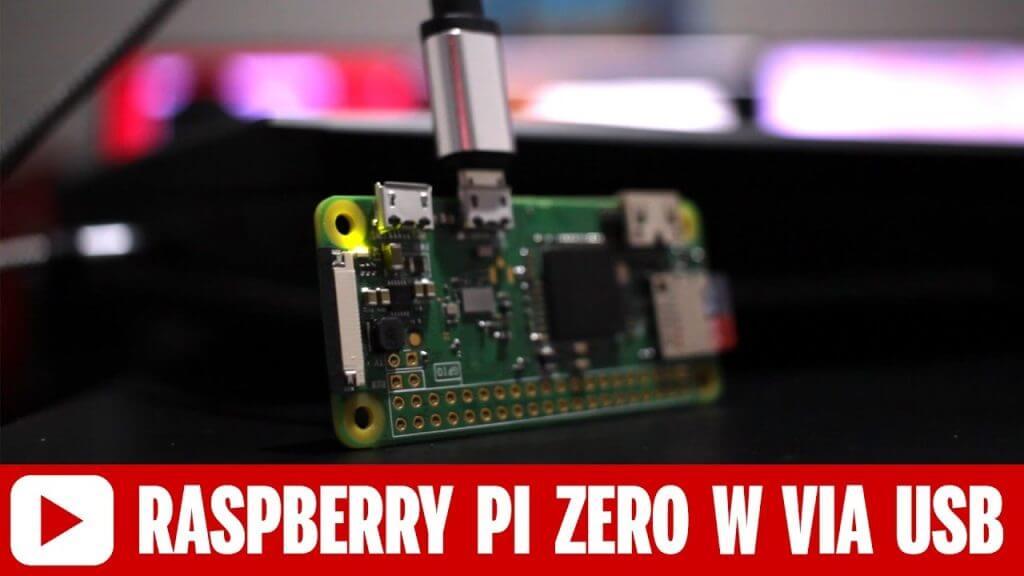 Connect to a Raspberry Pi Zero W via USB – No Mini HDMI Cable Needed
