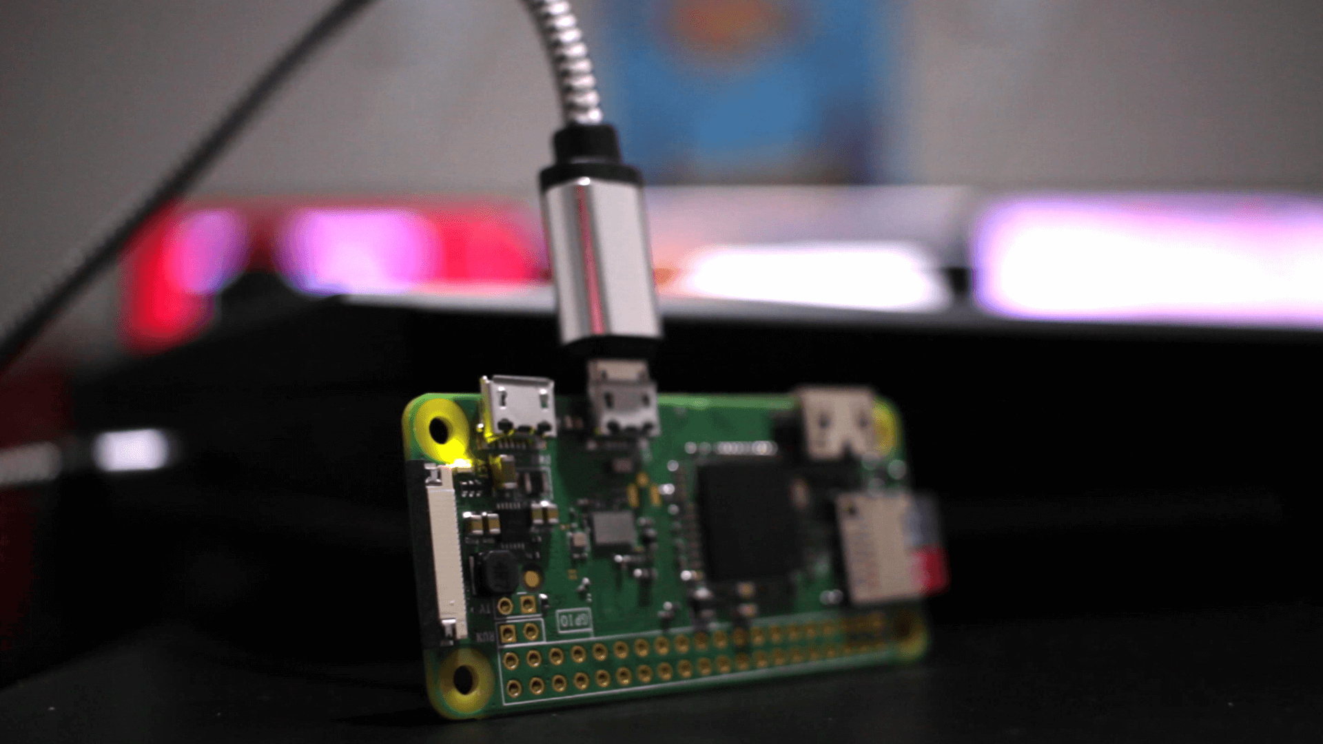 Connect to a Raspberry Pi Zero W via USB W/O a MicroHDMI Cable
