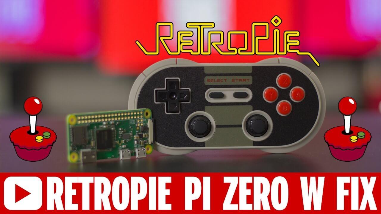 Retropie FIX for Raspberry Pi Zero W