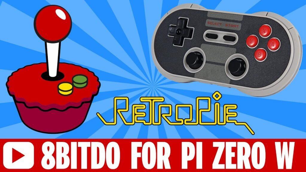 Setup 8bitDo Nes30 Pro Bluetooth Controller in Retropie on Raspberry Pi Zero W and Pi 3