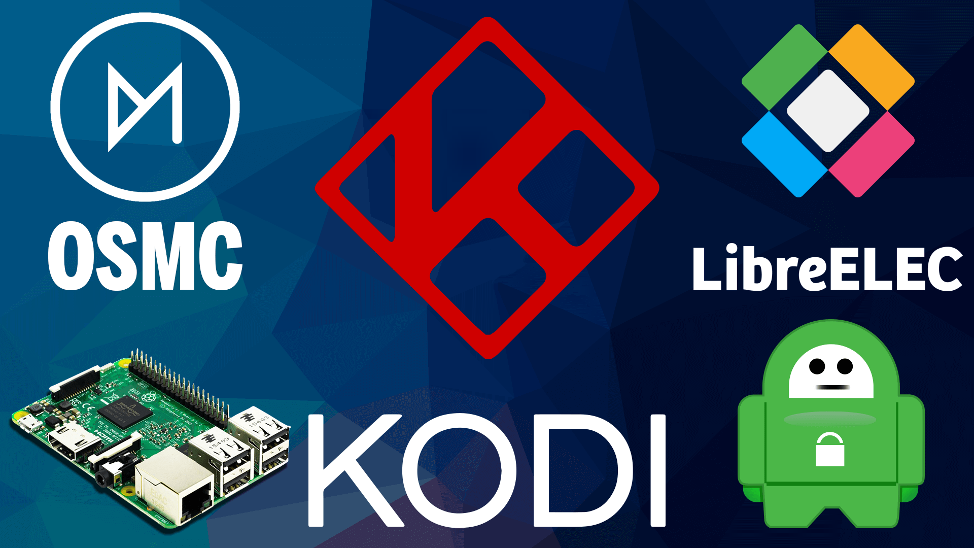Setup Kodi OSMC & LibreELEC VPN on Raspberry Pi 3 with Private Internet Access using OpenVPN Exodus