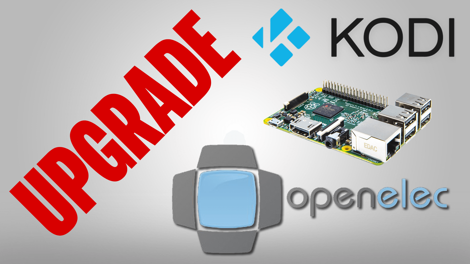 How to Update OpenElec Kodi on Raspberry Pi 3 2 1 B+ 0 Zero