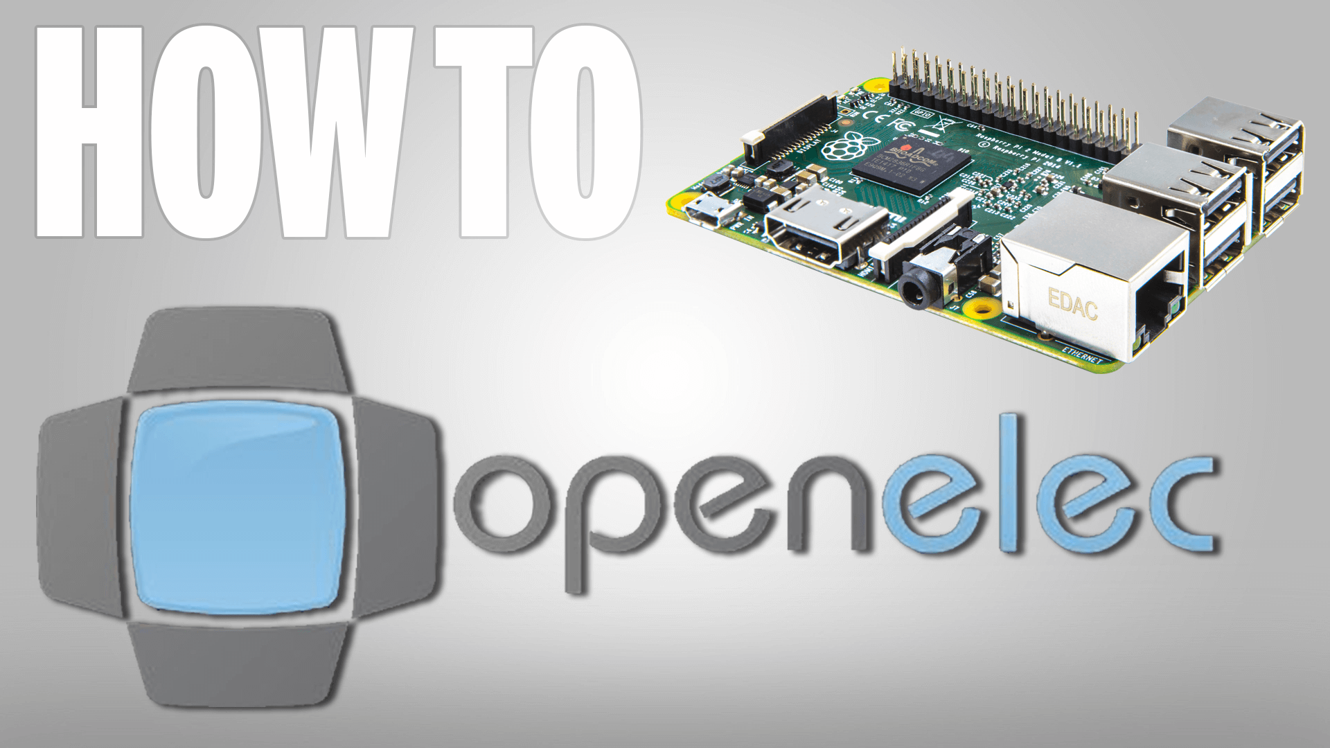 How to Install Kodi OpenElec on a Raspberry Pi 3, 2, 1, B+ or 0