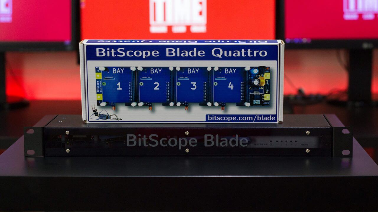 Simple Raspberry Pi Cluster Server using Bitscope Blade Rack