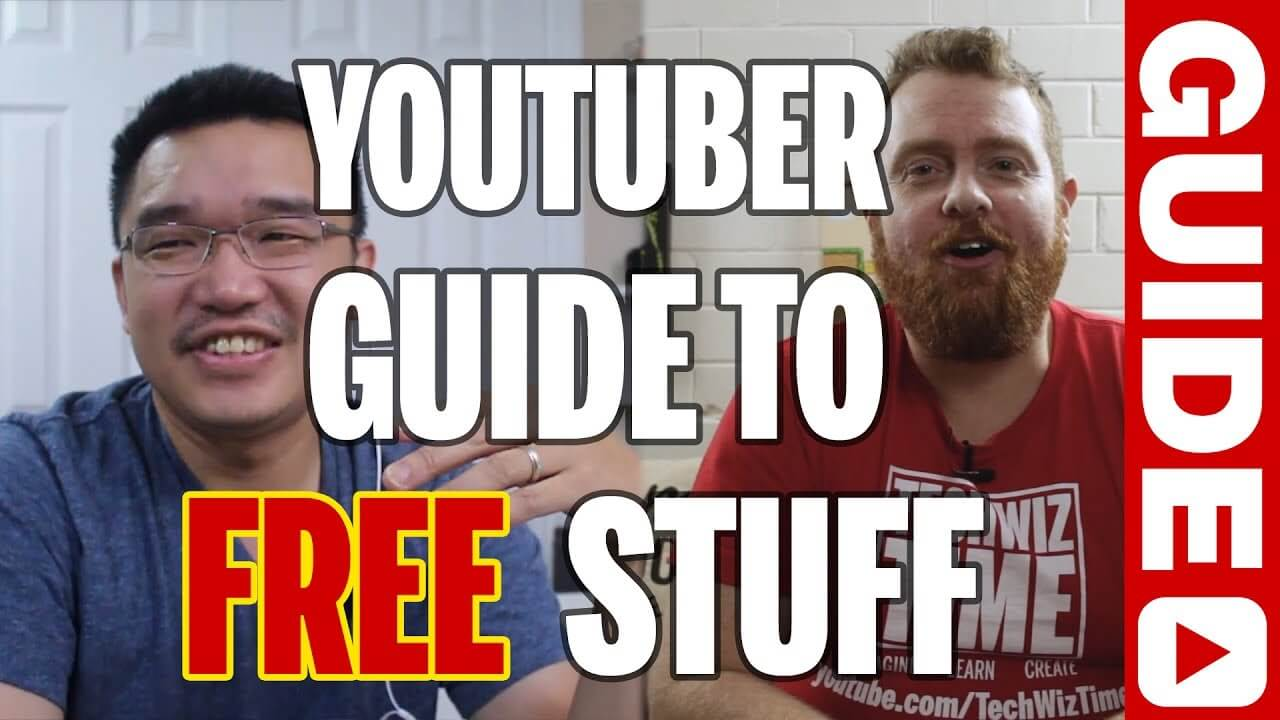 How to get free stuff for your YouTube Channel