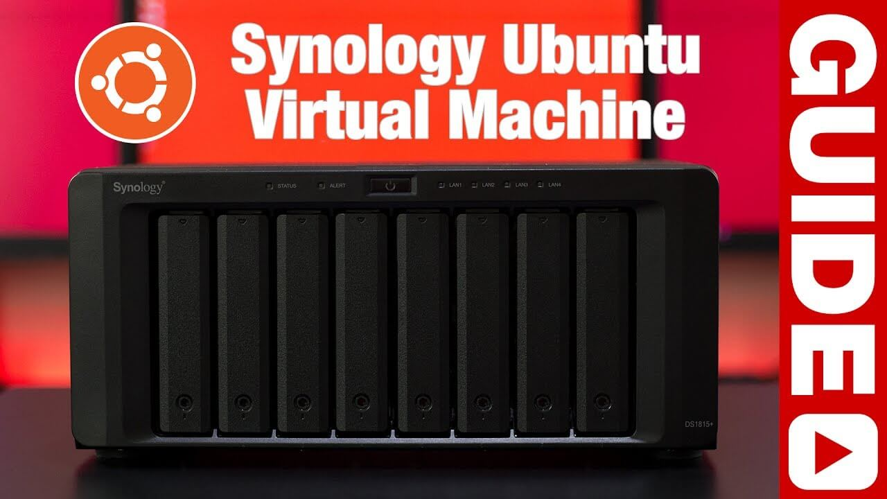 Ubuntu Virtual Machine Running on a Synology NAS