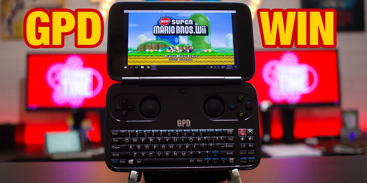 GPD Win – The Ultra Portable Steam Gaming Machine