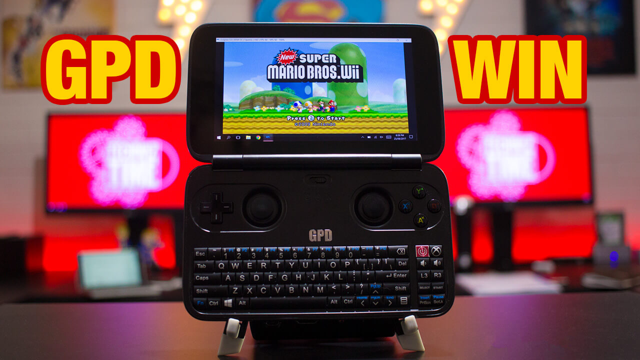 GPD Win – The Ultra Portable Steam Gaming PC