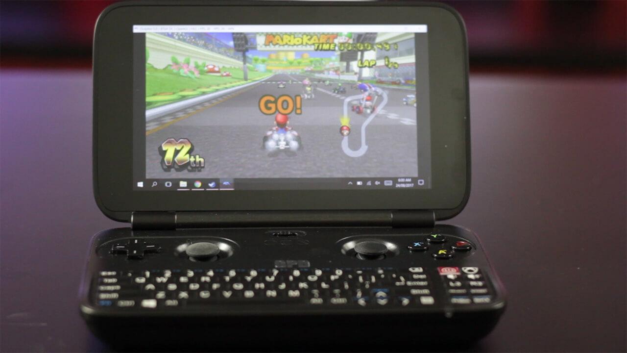 GPD Win Mario Kart Wii