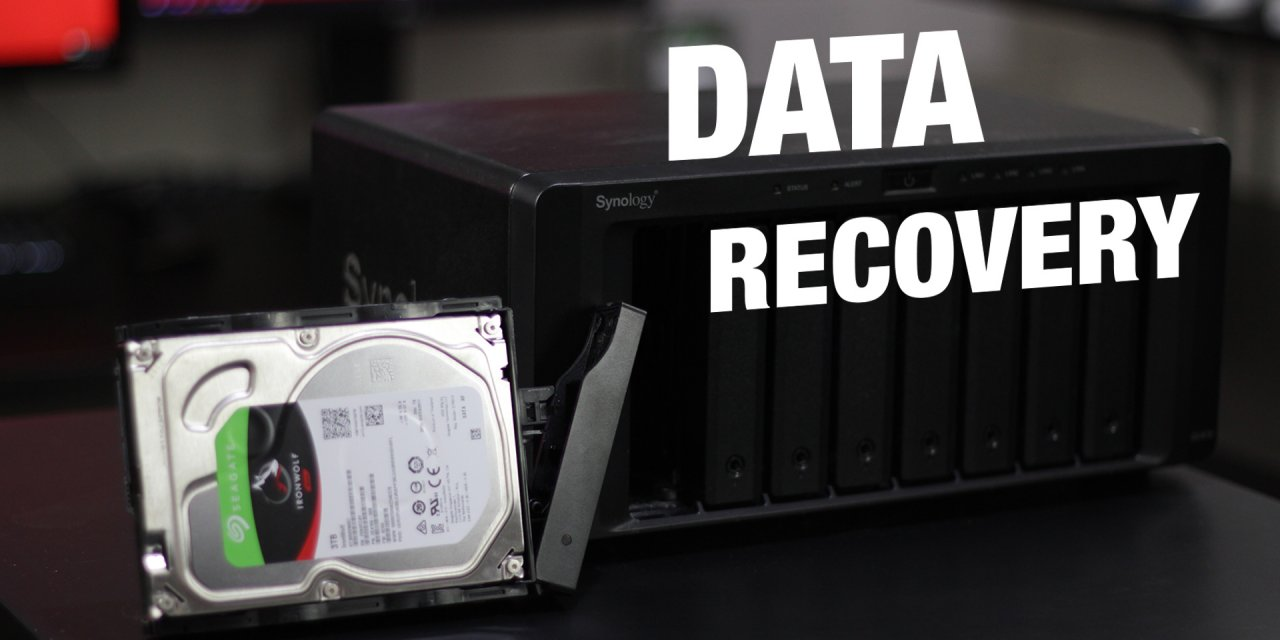 Recovering Data from a Synology Diskstation using a PC