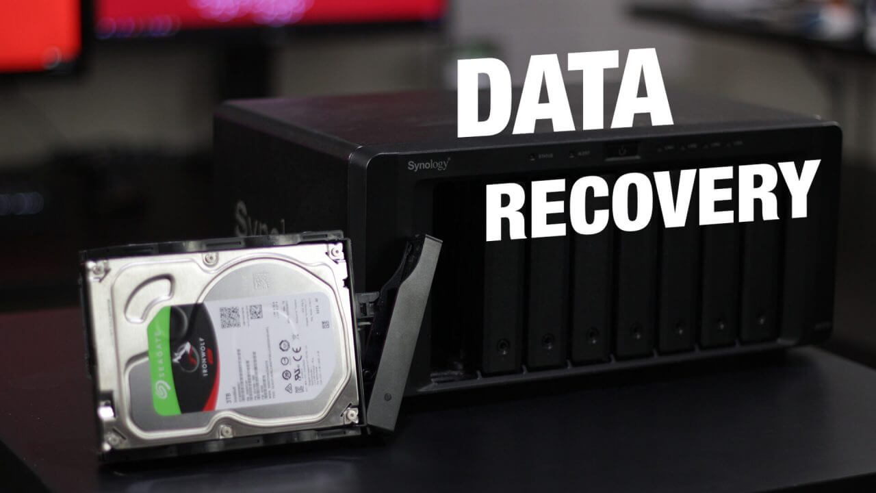 Synology NAS Data Recovery Using Ubuntu