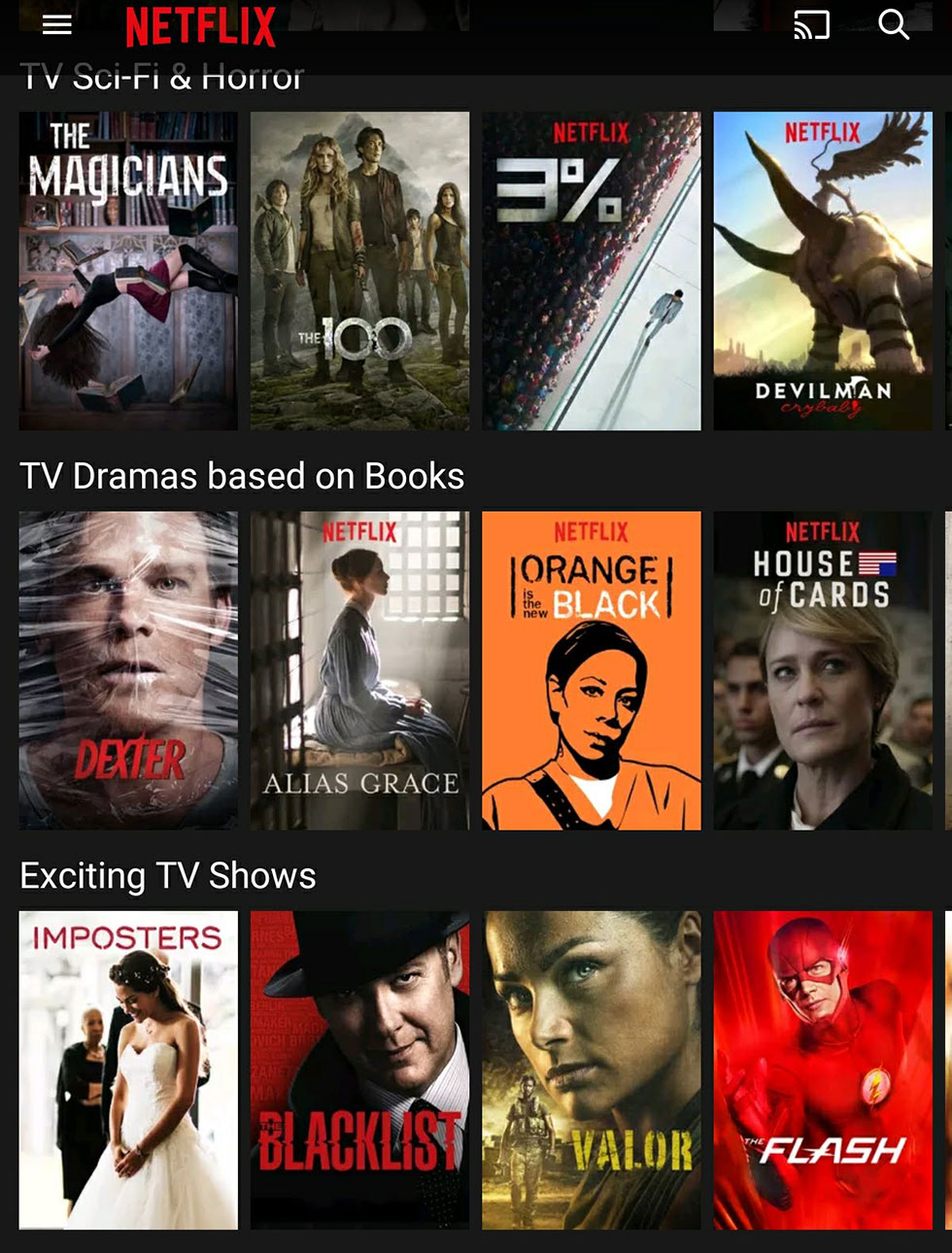 American Netflix TV Shows and Movies