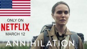 Annihilation Netfflix America