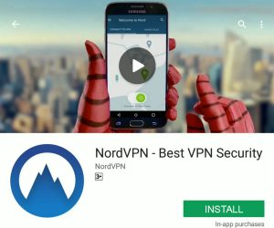 NordVPN Google Play Store