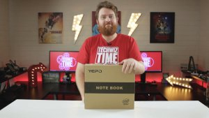 Yepo 737A Notebook Review Unboxing
