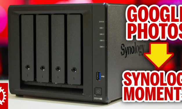 Media storage woes?  Synology Moments might be the solution for your photos / videos