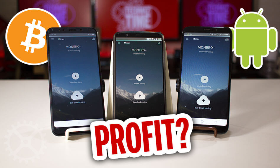 Can you make a profit mining cryptocurrency on Android?