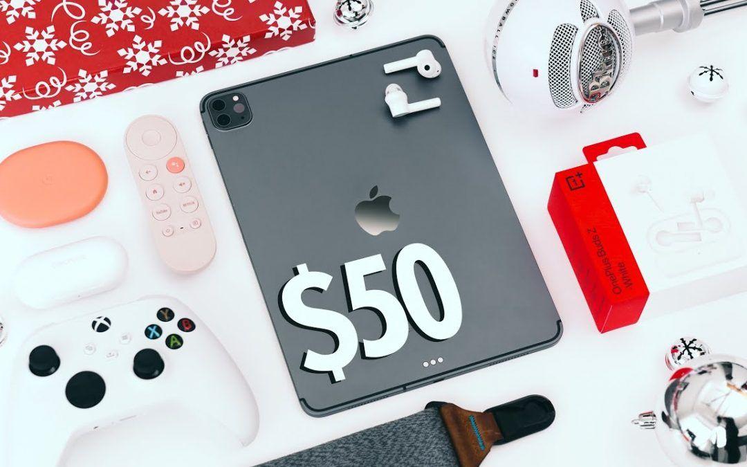 $50 TECH GIFT IDEAS – 2020 Gift Guide!