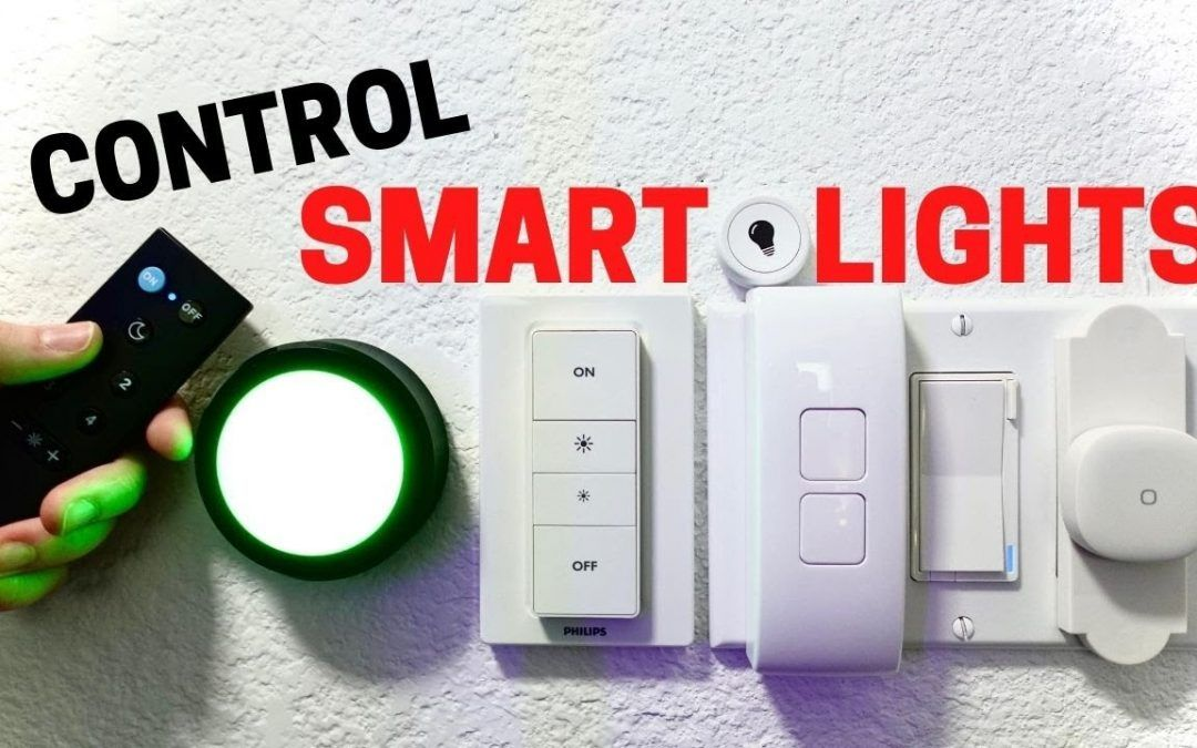 Best Switches and Buttons that Control Smart Lights