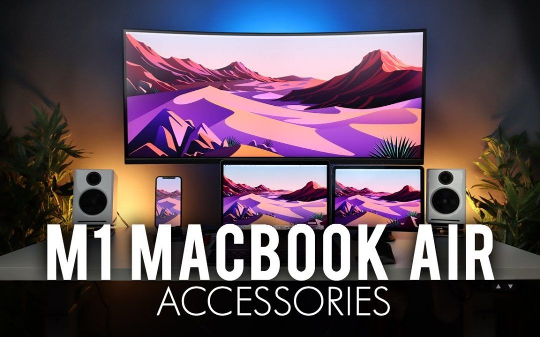 DON'T USE the M1 MacBook Air WITHOUT these Accessories!