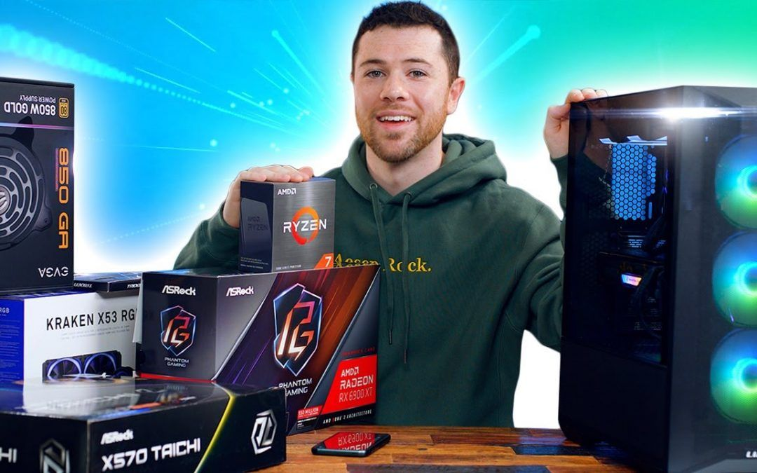 How to Build a Gaming PC in 2021 – Easy 10-minute Build Guide!