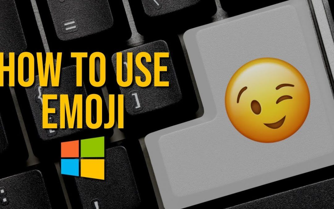How to Use EMOJI in Windows 10 😉👍