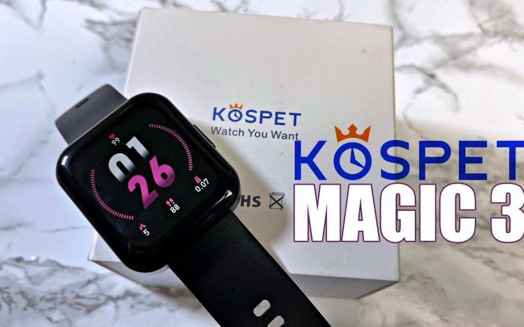 Kospet Magic 3 Fitness Smartwatch Review – 1.7″ – SPO2 – IP68 – Under $35 – Worth it?
