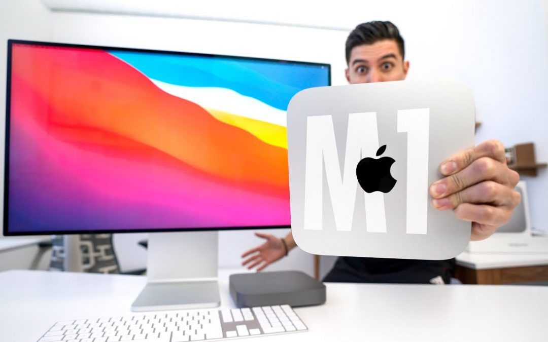 Mac Mini M1 UNBOXING and REVIEW!
