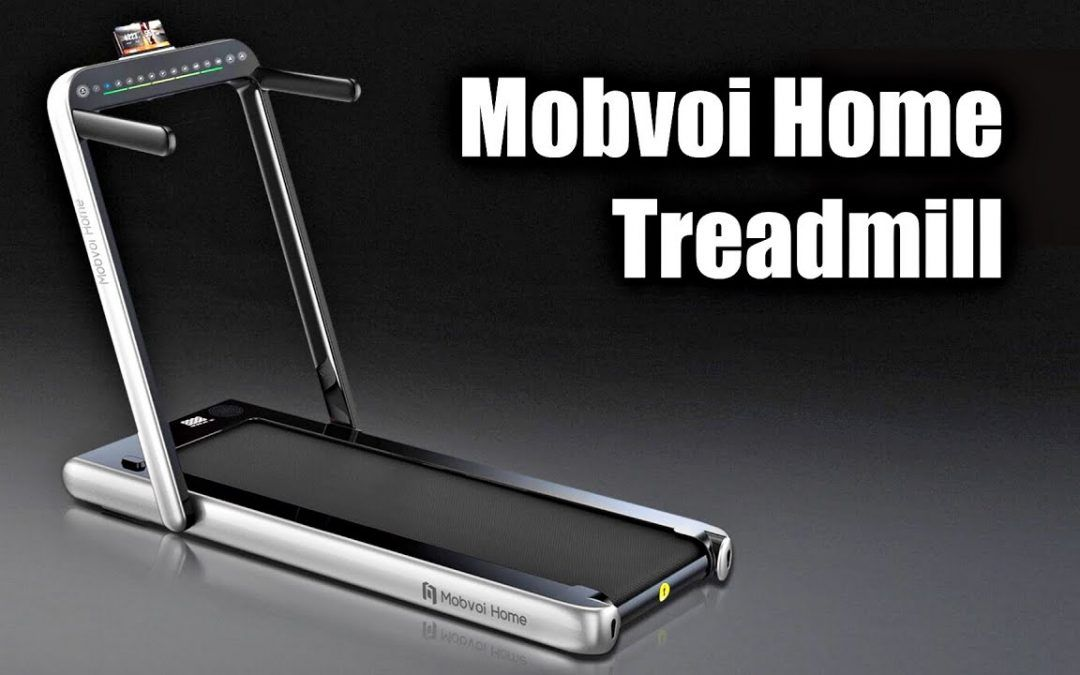 Mobvoi Home Treadmill – Compact, Foldable – Built-in Bluetooth Speaker – LED Touch Control