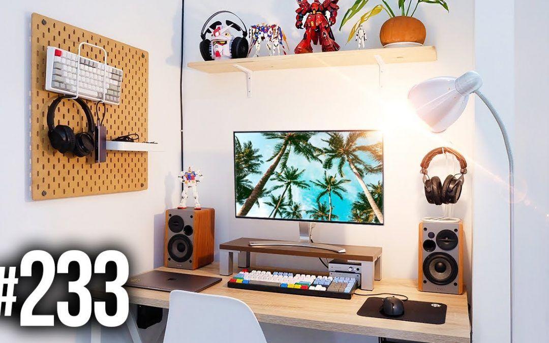 Room Tour Project 233 – Clean & Minimal Setups!