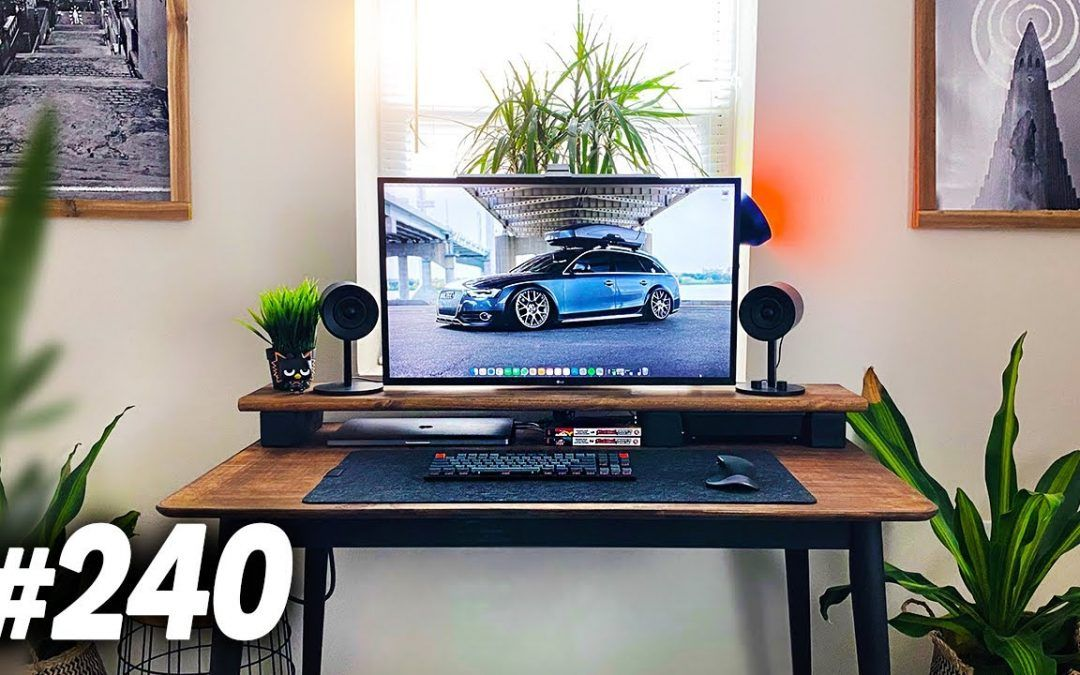 Room Tour Project 240 – Clean & Minimal Setups!