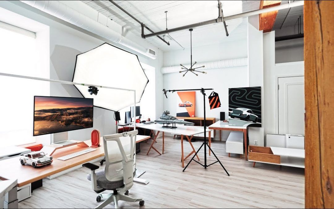 Studio Loft Tour – The ULTIMATE Work From Home Space!