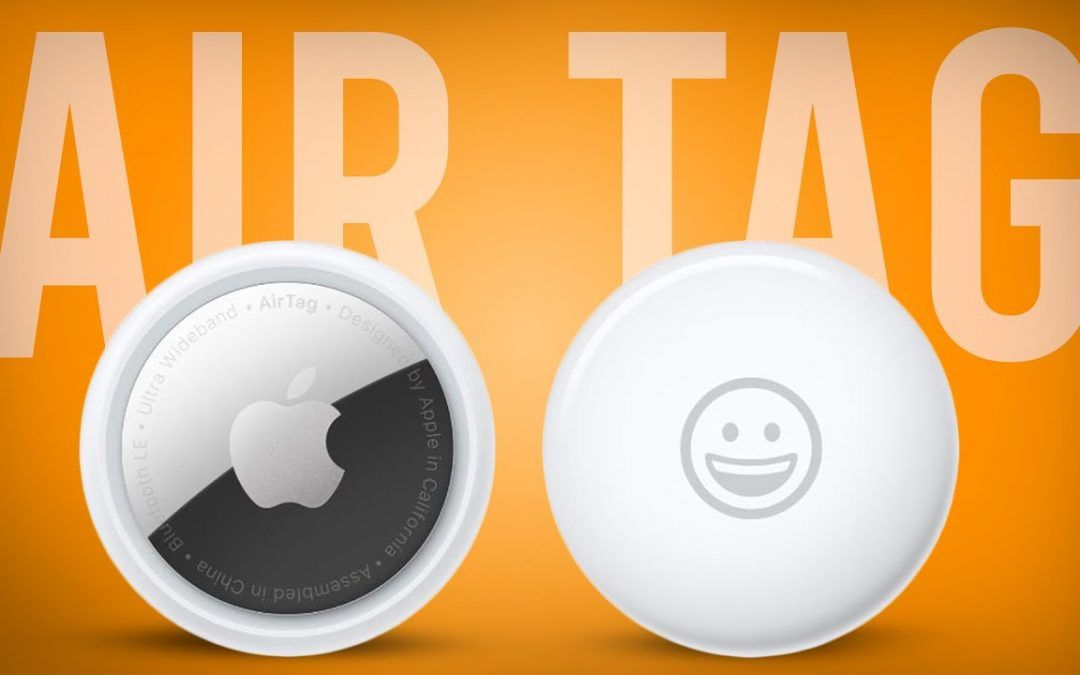 TAG. YOU'RE IT! Apple AirTags!