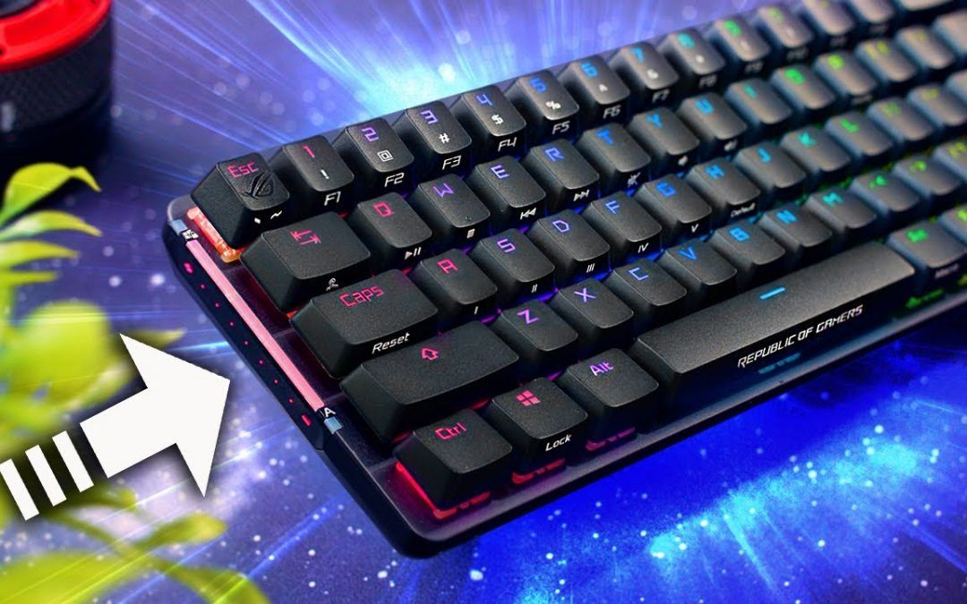 The ASUS ROG Falchion 65% Keyboard is CRAZY